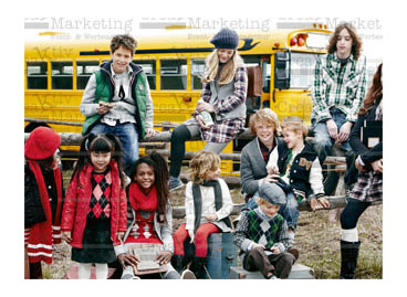 US Schulbus - Fotoshooting